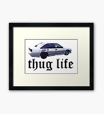 VN Commodore Thug Life Framed Print