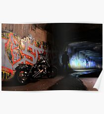 Tunnel Rider... Poster