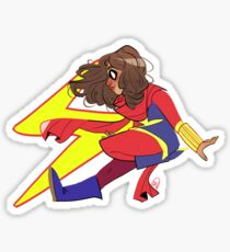 Miss Marvel Sticker