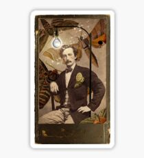 Mothman Sticker 262Mothman Adolphe Willette Carte De Visite Dentiste