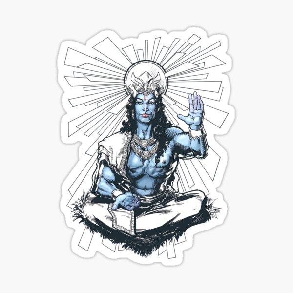Rama seventh avatar of Vishnu Sticker