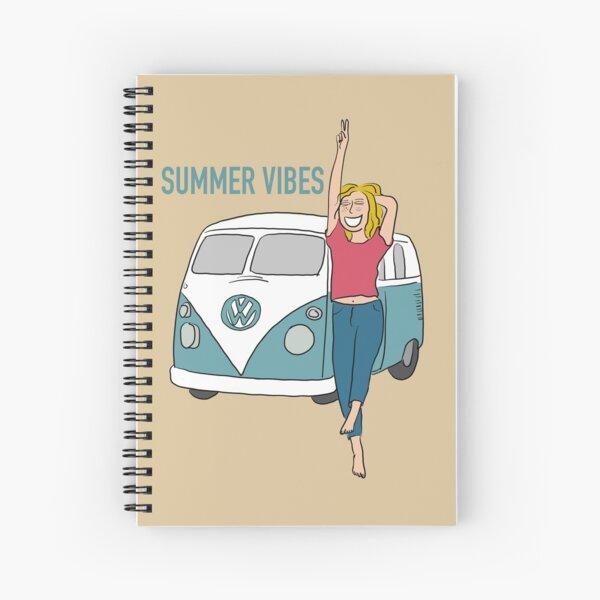Summer Vibes Spiral Notebook