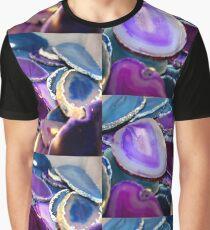 Purple Stones Graphic T-Shirt