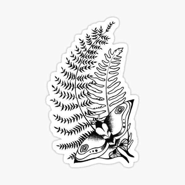 The Last of Us Ellie Tattoo *inspired* - Black V2 Sticker