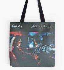 Bear's Den - Red clay and Pouring rain - Vinyl sleeve Tote Bag