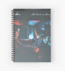 Bear's Den - Red clay and Pouring rain - Vinyl sleeve Spiral Notebook