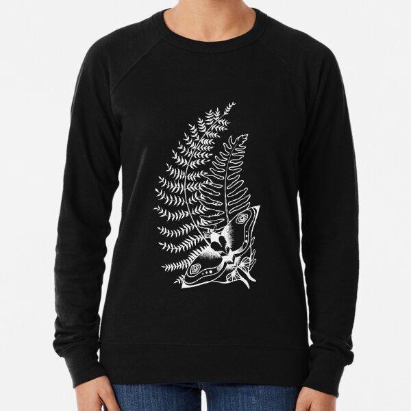The Last of Us Ellie Tattoo *inspired* - White V2 Lightweight Sweatshirt