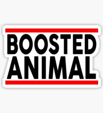 Boosted Animal Sticker