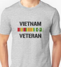 Vietnam Veteran Ribbon Bar T-Shirt