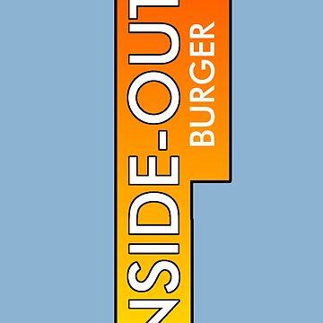 Inside Out Burger by Noveltee-Shirts