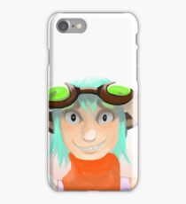 Green Goggles  iPhone Case/Skin