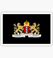 Coat of arms of Amsterdam Sticker