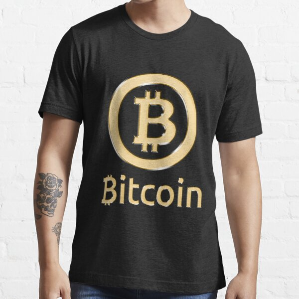 Bitcoin Made of Gold Essential T-Shirt