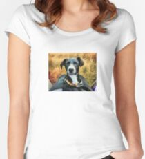 Ringo Takes a Selfie Women's Fitted Scoop T-Shirt