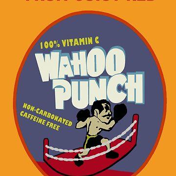 Wahoo Punch 2 by Noveltee-Shirts