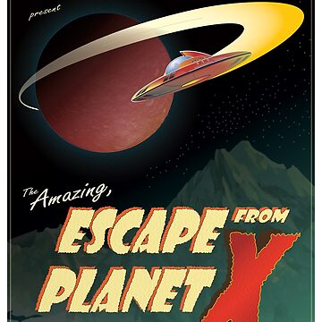 Escape From Planet X by ianlaverart