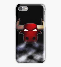 Bulls smoke iPhone Case/Skin