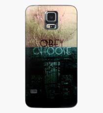 Choose/Obey Case/Skin for Samsung Galaxy