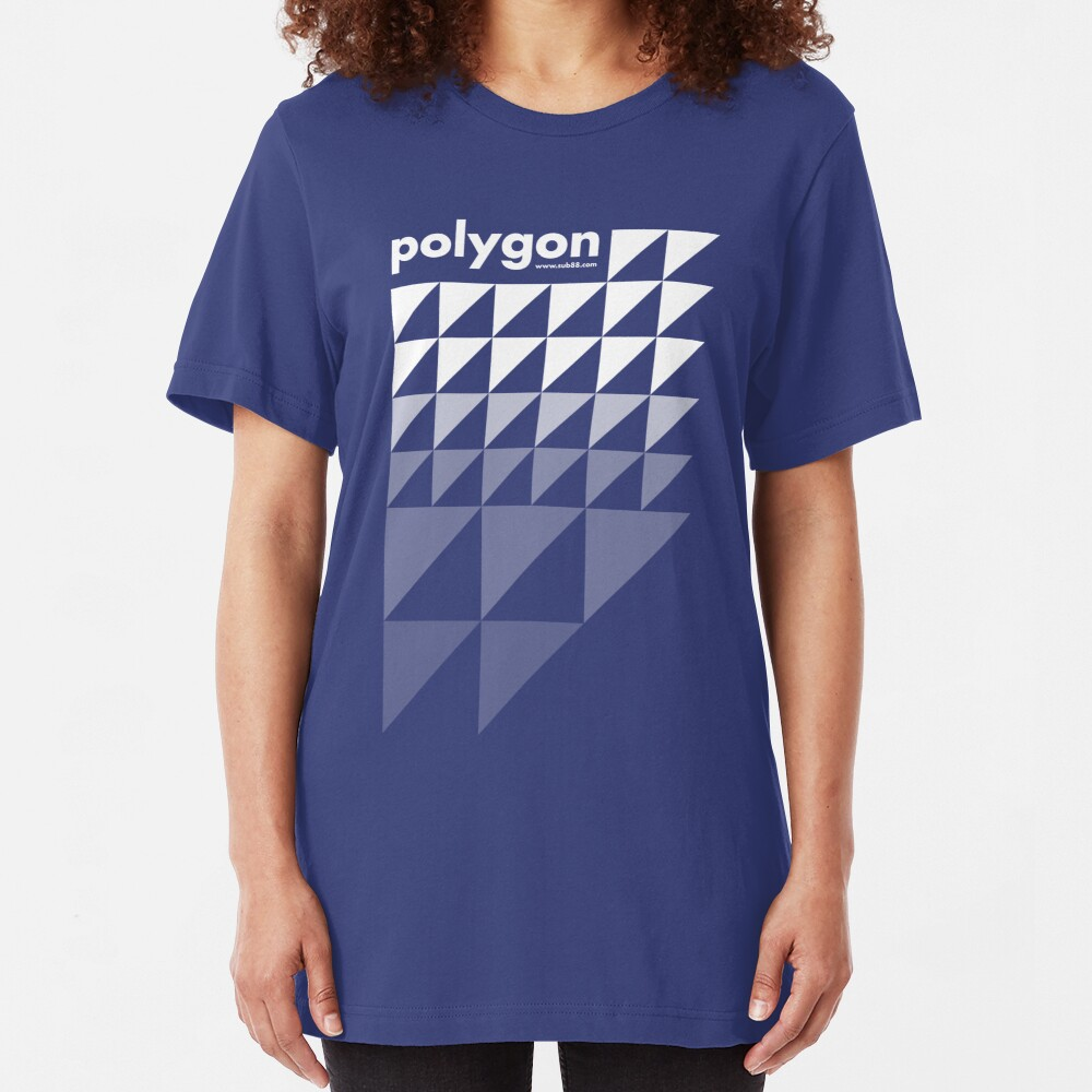 Polygon (w) Slim Fit T-Shirt