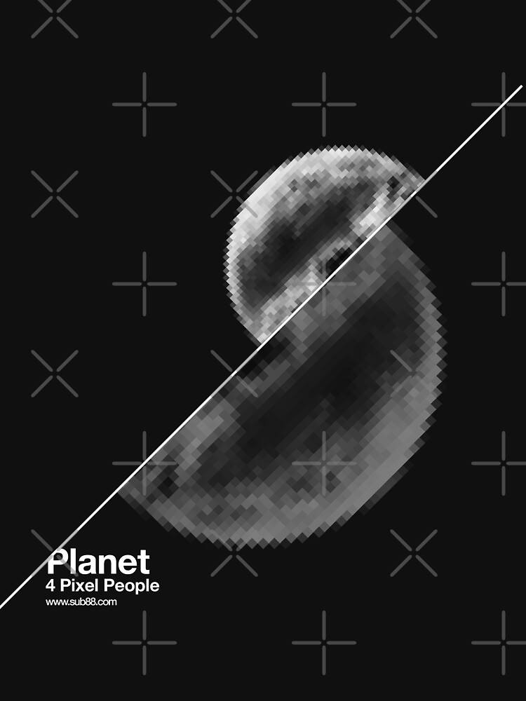 Planet 4 pixel people by sub88
