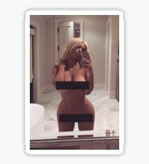 "Kim kardashian "" nude "" Sticker"
