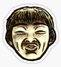 Great Teacher Onizuka Face  Sticker