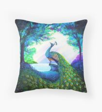 A Majestic Morning Throw Pillow