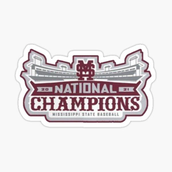 mississippi state national championship Classic T-shirt Sticker