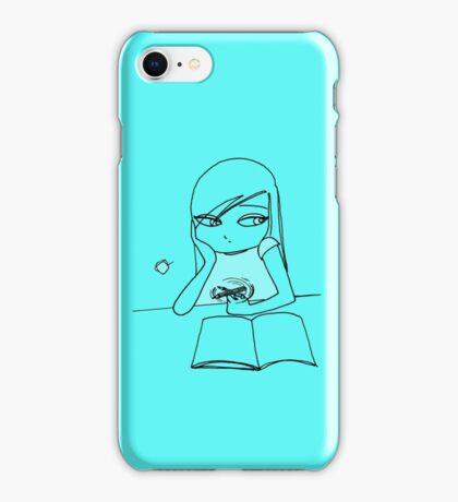 Drawing Day Goes By  iPhone Case/Skin