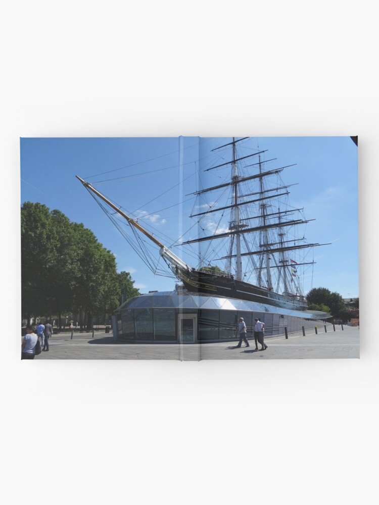 Alternate view of Little known facts Cutty Sark Hardcover Journal