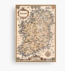 1927 vintage Ireland map Metal Print