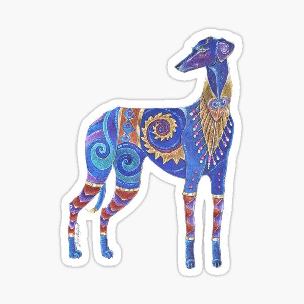 Azawakh Totem Sticker