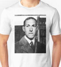 H.P. Lovecraft photographic portrait Unisex T-Shirt