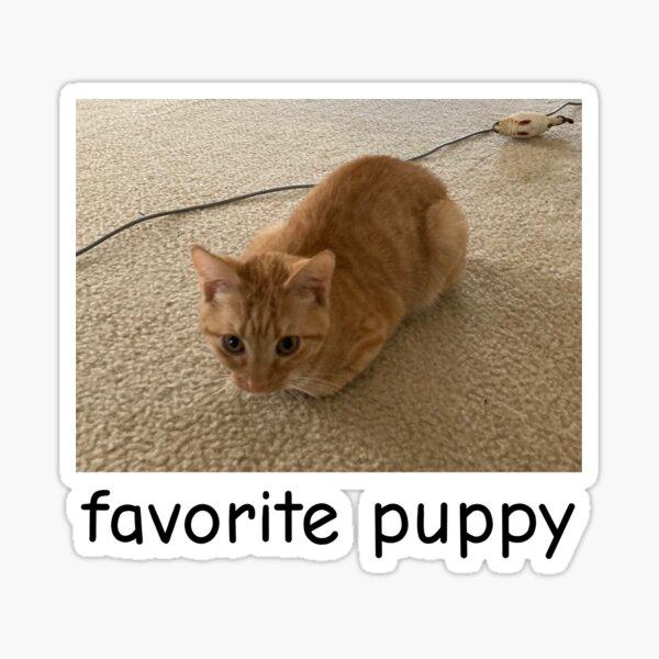 jambo favorite puppy Sticker