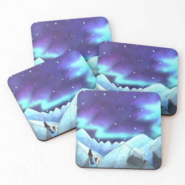 Northern Lights Coasters (Set of 4)