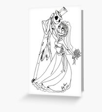A nightmare Wedding Greeting Card