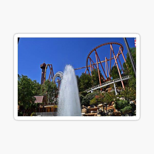 Six Flags Magic Mountain Sticker
