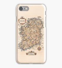 1927 vintage Ireland map iPhone Case/Skin