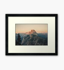 Half Dome III Framed Print