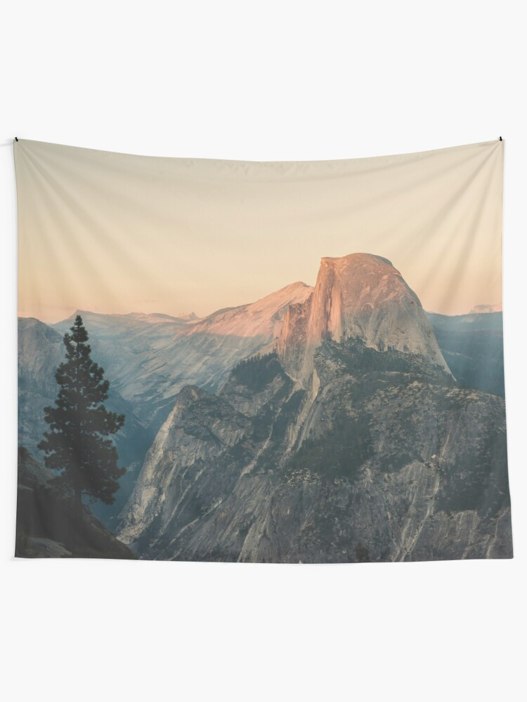 Alternate view of Half Dome III Tapestry