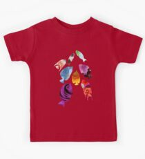 Fish shaped Flowers Kids Tee