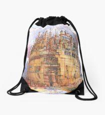 La Citta' Sferica Drawstring Bag