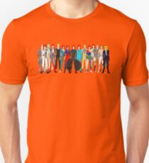 Group Bowie Fashion Unisex T-Shirt