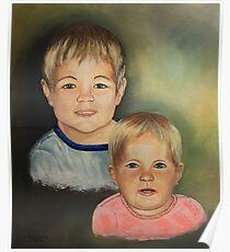 Barnsis's Grandkids......on craft foam Poster