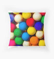 Bubble Gum Love Throw Pillow