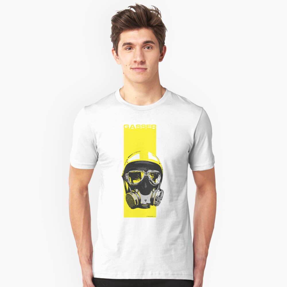 Gasser-Yellow Slim Fit T-Shirt