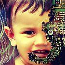 Cyborg baby by Subhrajit Datta