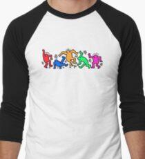 Keith Haring Dance Men's Baseball ¾ T-Shirt