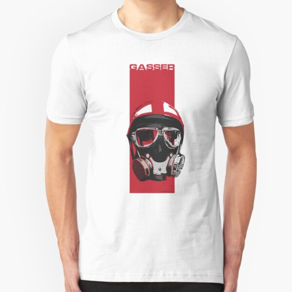 Gasser-Red Slim Fit T-Shirt