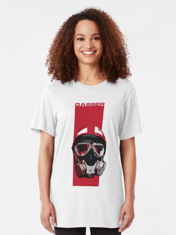 Alternate view of Gasser-Red Slim Fit T-Shirt